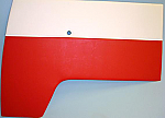 2x SPLIT SRCEEN CAB DOOR PANEL'S < 2 COLOUR >